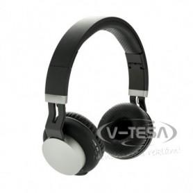 Forgatható vezeték nélküli fejhallgató, fekete