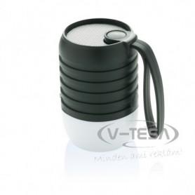 Vezeték nélküli szabadtéri hangszóró, fekete