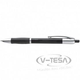 Bordázott gumi markolatú toll