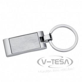 Téglalap alakú kulcstartó