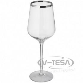 6 db fehérboros pohár