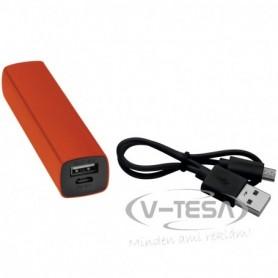2200 mAh Powerbank USB porttal