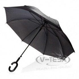 "23"" automata esernyő, fekete"