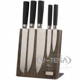 Késtartó 5 késsel
