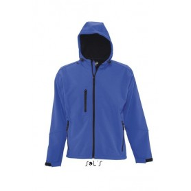 SOL'S REPLAY MEN'S HOODED SOFTSHELL