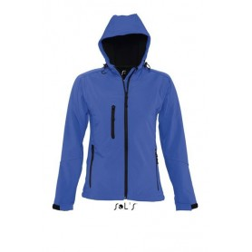 SOL'S REPLAY WOMEN'S HOODED SOFTSHELL
