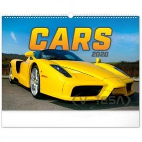 SPIRÁLOZOTT Falinaptár-Cars