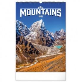 SPIRÁLOZOTT Falinaptár-Mountain
