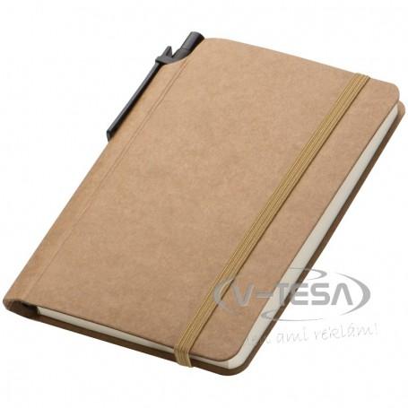 Kis jegyzetfüzet tollal